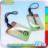 IDENTIFICATION RF MIFARE 1K classique Keyfob époxy de qualité pour la promotion