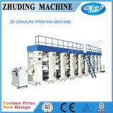 Máquina de impresión en offset no tejida de la tela de la velocidad