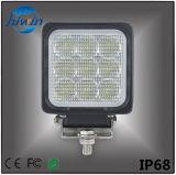 Auto der Qualitäts-LED beleuchtet 4 des Zoll-27W Arbeits-Licht Punkt-Flut-des Träger-LED für nicht für den Straßenverkehr Cer bestätigtes RoHS der LKW-UTV SUV