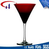 음식 급료 무연 수정같은 유리 받침 달린 컵 (CHG8075)