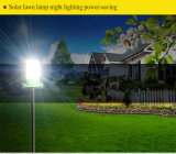Lámpara de césped LED solar al aire libre ligera para