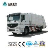 Carro comprimido del compresor de la basura de la fuente profesional de la talla del tanque 20m3