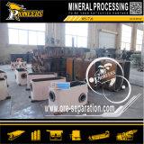 Oro della macchina d'estrazione 6s del minerale metallifero dell'oro del giacimento detritico che agita il concentratore della Tabella