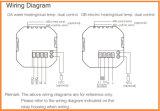 Het Verwarmen van het water de Thermostaten van de Zaal met Functies Modbus
