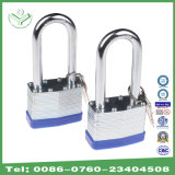 40mm Zinc Plating Long Shackle Laminated Steel Padlock (740LSZ)