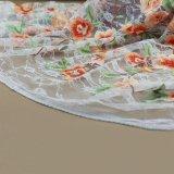 Tessuto solubile in acqua del merletto del cotone del ricamo per la tessile