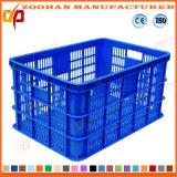 Casella di plastica di trasporto di contenitore della frutta o della verdura della maglia (ZHtb35)