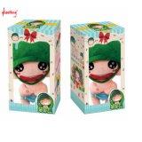 Rectángulo de papel acanalado decorativo plegable al por mayor de encargo de la fábrica para el juguete del bebé