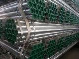 Tubo galvanizado de la sección 4 redondos