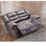 Sofa en cuir manuel de Recliner (737)