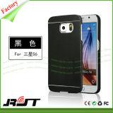 Het geborstelde Geval van de Telefoon van het Aluminium Mobiele voor de Melkweg van Samsung S6