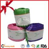 La cinta de rafia de papel decoración para la fiesta de Navidad