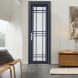 Feelingtop calidad excelente doble acristalamiento templado interiores de aluminio Puertas francesas (FT-D70)