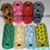 Sacchetto profumato di plastica dello spreco dell'animale domestico del sacchetto di Poop del cane