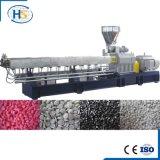 Carbonato de cálcio de Wth do PE que combina a máquina da extrusora de dois estágios