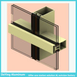 Perfil de aluminio competitivo con dimensión de una variable y el requisito de la diferencia