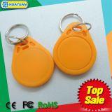 Идентификация MIFARE Clsssic 1K франтовское RFID Keyfob замка двери