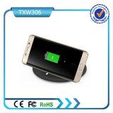 Carregador sem fio padrão de Qi do melhor uso portátil do telefone móvel do presente da promoção para o telefone do rádio de Samsung