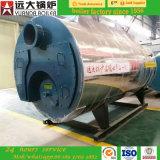 Alta qualidade despedida da caldeira de vapor da venda 1ton 2ton da fábrica gás quente