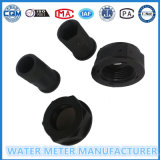 Black Color Nylon Plastic Water Meter Accessoires de Dn15-25mm