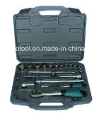 "33PCS 1/я "" & 1/2 "" Dr. Socket Set, Socket Tool Set с Германией Kraft Tool Set"