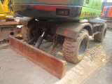 使用された車輪の掘削機のヒュンダイ60Wの車輪の掘削機
