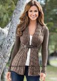 Кардиган свитера горячих сбываний способа девушки OEM длинний