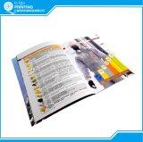 印刷のサンプルは本の小冊子マガジンパンフレットをカタログする