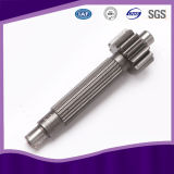 Acier inoxydable Spur Transmission Spline Engrenage Drive Shaft