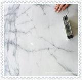 イタリアの高品質の白いCalacattaの大理石の平板