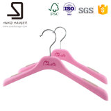Molto Cheap Plastic Hanger per Lady Clothes, Rosa Red Kids Clothes Hanger