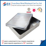 Printed de encargo Metal Packaging Box con Factory Price