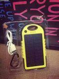 caricatore solare portatile esterno 5000mAh con l'indicatore luminoso del LED (SC-01-6)