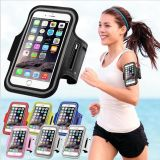 PU Leather Phone Cover iPhone 6 6s 4.7 Gym Waterproof аргументы за Arm Band спорта