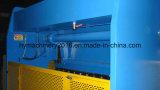 Máquina de dobra hidráulica da placa de aço do controle de Wc67y-200X4000 Nc