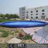 0.6~0.9 mm PVC大きく小さい屋内屋外のカスタマイズされた膨脹可能なプール