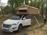 3~4人4X4屋外のキャンプ販売のための道の屋根の上のテントを離れた