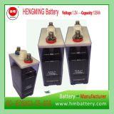Baterias de armazenamento médias Gnz160 da taxa niquelar Cadmium/Ni-CD (1.2V, 160ah) para a fonte e a iluminação Uninterruptable de alimentação do UPS
