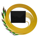 Divisor óptico del PLC de la caja del ABS del divisor de la fibra de Gpon/Epon