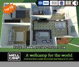 Дом виллы контейнера Wellcamp полуфабрикат складывая