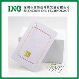 Employer extensivement la carte blanche de PVC de blanc de taille standard