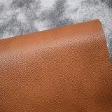 袋のハンドバッグのための浮彫りにされた二重カラー方法デザイン総合的なPUの革