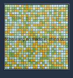 Mosaico di pietra di vetro di disegno lucido del mattone