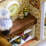 подарок модельного деревянного Dollhouse игрушки DIY головоломки 3D миниатюрного самый лучший для мальчиков и приключений перемещения девушок