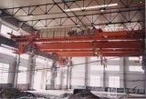 Guindastes aéreos de viagem do trilho da oficina da construção de aço com ímã