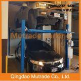 Mutrade avancé stationnant deux la palette 4 levage de stationnement de véhicule d'étage de stationnement de quatre postes