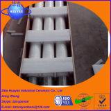 Rodillos de cerámica de la silicona fundida del cuarzo para Furaces de temple de cristal