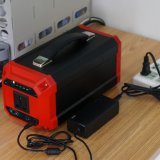 Bateria portátil da potência do sistema solar com controlador de MPPT
