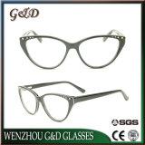 Het recentste Frame van het Schouwspel van het Oogglas van Eyewear van de Acetaat van het Ontwerp In het groot Optische Cc1714