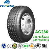 China All Steel Radial Single Truck Tyre mit ECE (385/65R22.5)